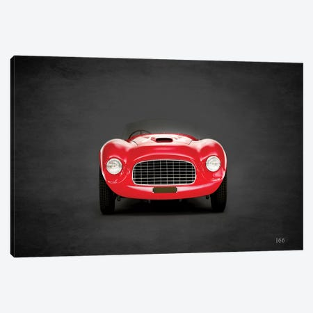 1948 Ferrari 166 Canvas Print #RGN355} by Mark Rogan Art Print
