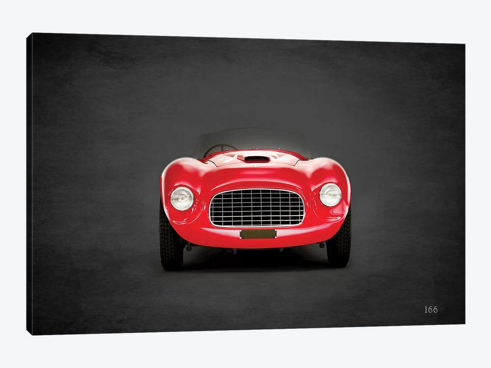 1948 Ferrari 166 by Mark Rogan 1-piece Canvas Art Print