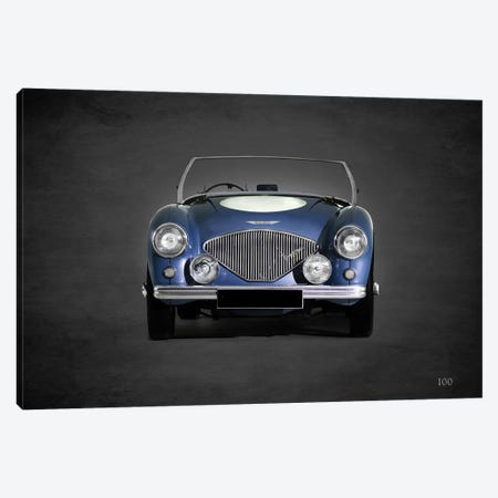 1953 Austin-Healey 100 Canvas Print #RGN358} by Mark Rogan Canvas Art