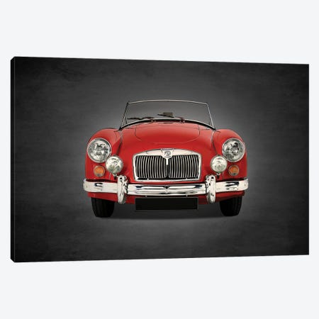 1955 MG A 1500 3-Piece Canvas #RGN360} by Mark Rogan Canvas Art Print