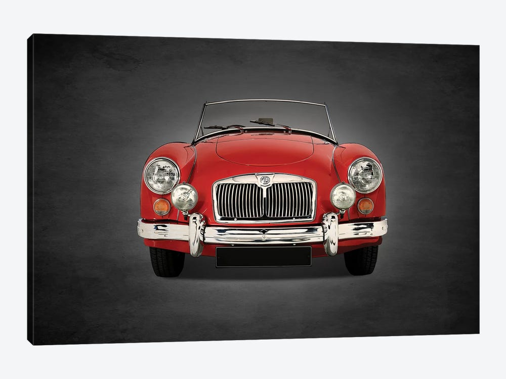 1955 MG A 1500 by Mark Rogan 1-piece Canvas Art Print