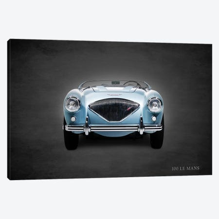 1956 Austin-Healey 100 LeMans Canvas Print #RGN361} by Mark Rogan Canvas Art Print