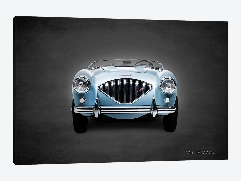 1956 Austin-Healey 100 LeMans 1-piece Canvas Art