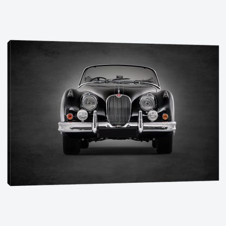 1958 Jaguar XK150 Canvas Print #RGN363} by Mark Rogan Canvas Print