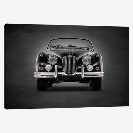 1958 Jaguar XK150 3-Piece Canvas #RGN363} by Mark Rogan Canvas Print