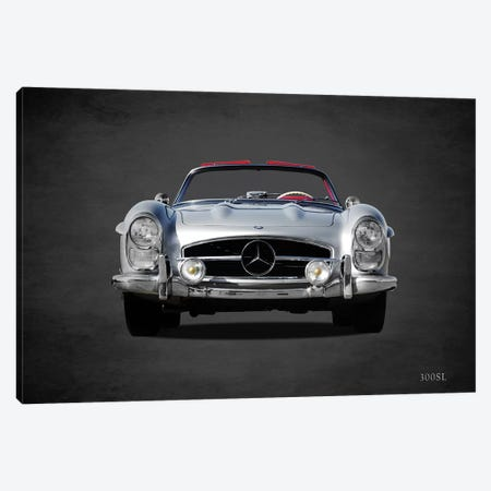 1958 Mercedes Benz 300SL Canvas Print #RGN364} by Mark Rogan Canvas Art