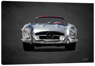 1958 Mercedes Benz 300SL Canvas Art Print