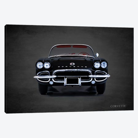 1962 Chevrolet Corvette Canvas Print #RGN365} by Mark Rogan Canvas Art