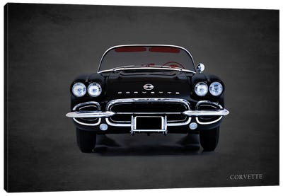 1962 Chevrolet Corvette Canvas Art Print