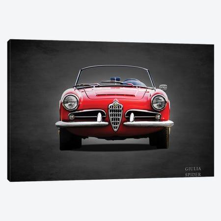 1964 D247Alfa Giulia 1600 Spider Canvas Print #RGN366} by Mark Rogan Canvas Wall Art