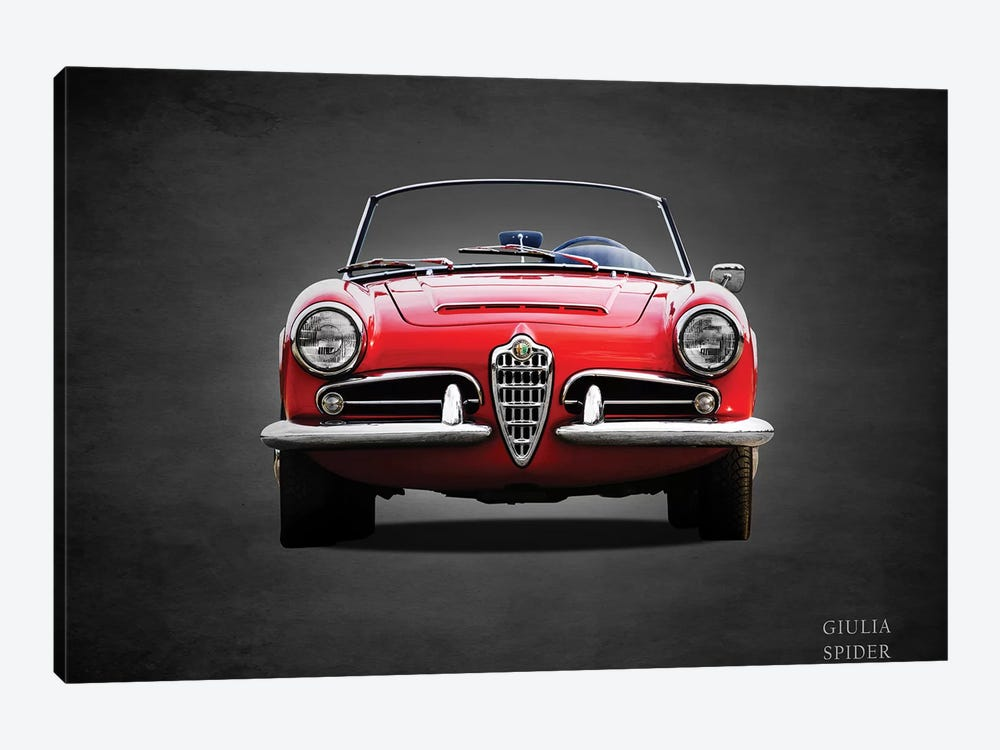1964 D247Alfa Giulia 1600 Spider by Mark Rogan 1-piece Canvas Print