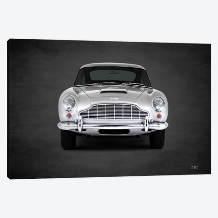 1965 Aston Martin DB5 I Canvas Print #RGN367} by Mark Rogan Canvas Wall Art