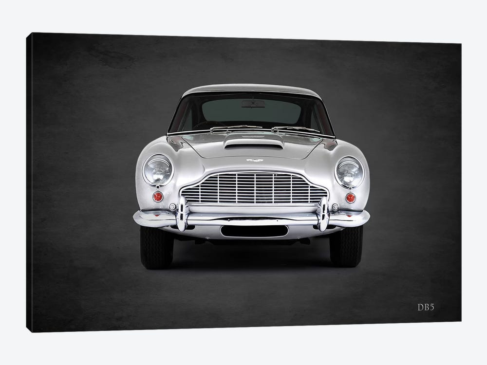 1965 Aston Martin DB5 I by Mark Rogan 1-piece Canvas Art