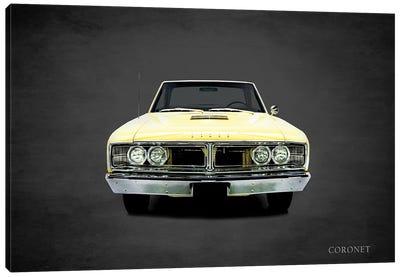 1966 Dodge Coronet Canvas Art Print