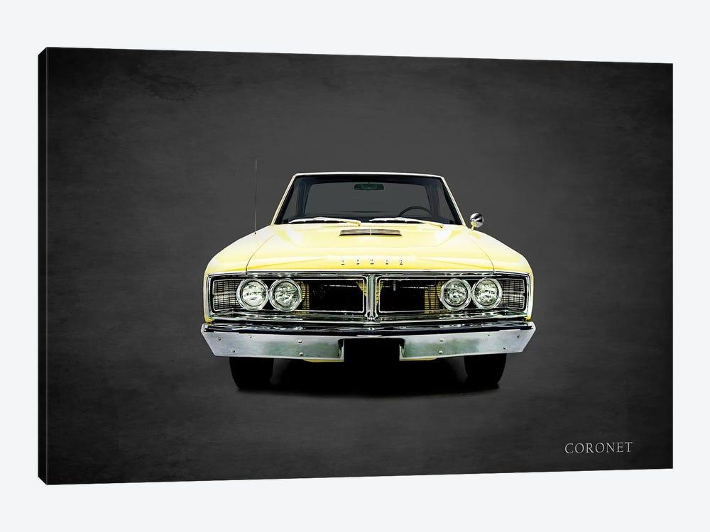 1966 Dodge Coronet by Mark Rogan 1-piece Canvas Art
