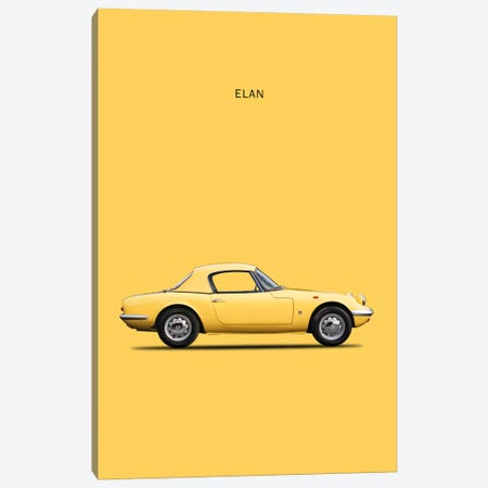 1965 Lotus Elan Canvas Print #RGN36} by Mark Rogan Canvas Artwork