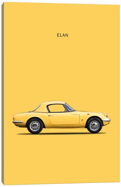 1965 Lotus Elan Canvas Art Print