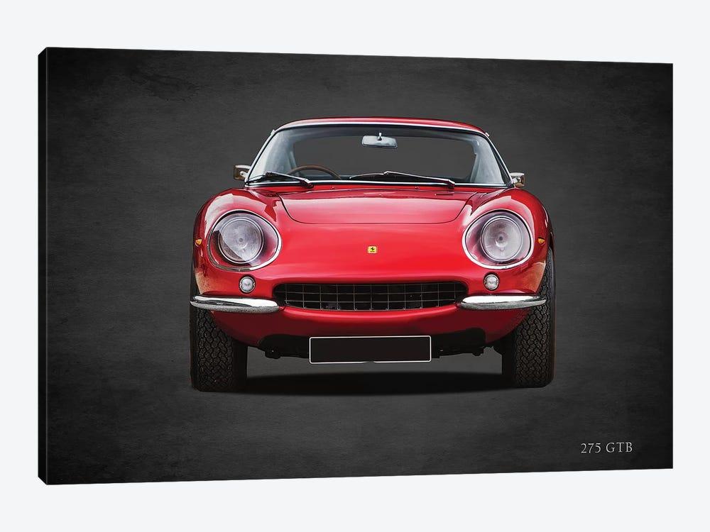 1966 Ferrari 275 GTB by Mark Rogan 1-piece Canvas Artwork