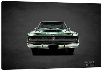 1967 Dodge Charger 426 Hemi Canvas Art Print