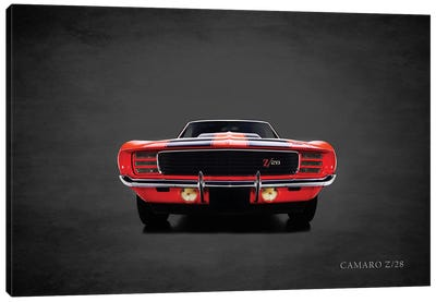 1969 Chevrolet Camaro Z28 Canvas Art Print