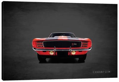 1969 Chevrolet Camaro Z28 Canvas Art Print
