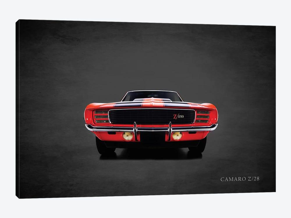 1969 Chevrolet Camaro Z28 by Mark Rogan 1-piece Canvas Art