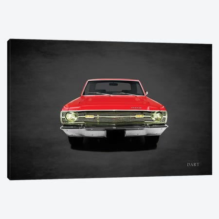 1969 Dodge Dart 340 Canvas Print #RGN373} by Mark Rogan Canvas Artwork