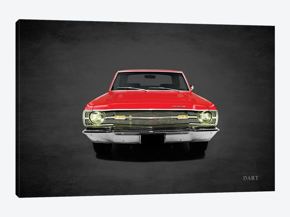 1969 Dodge Dart 340 by Mark Rogan 1-piece Canvas Art Print