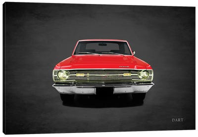 1969 Dodge Dart 340 Canvas Art Print