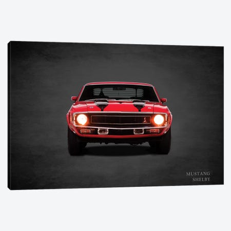 1969 Ford Mustang Shelby Canvas Print #RGN375} by Mark Rogan Canvas Print