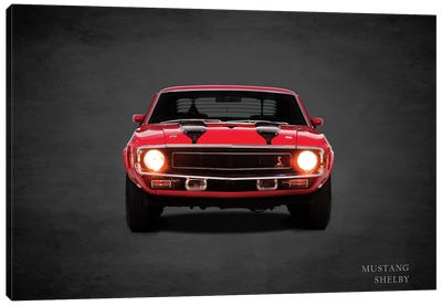 1969 Ford Mustang Shelby Canvas Art Print