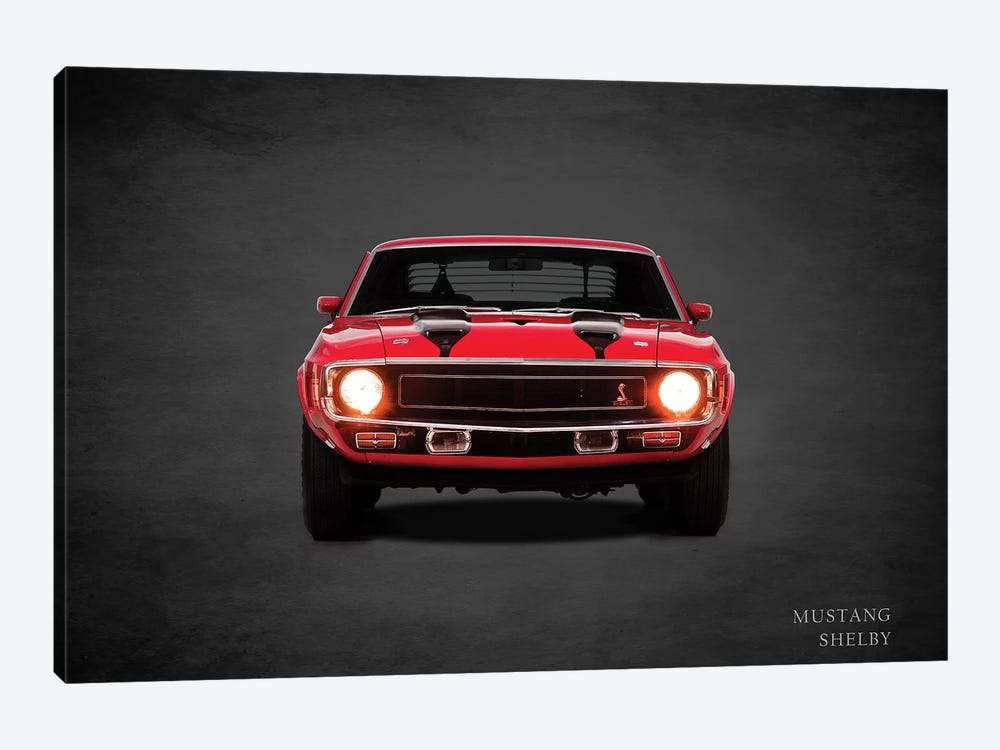 1969 Ford Mustang Shelby by Mark Rogan 1-piece Art Print