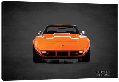 1974 Chevrolet Corvette Stingray Canvas Art Print