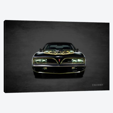 1978 Pontiac FireBird Trans Am Canvas Print #RGN377} by Mark Rogan Art Print