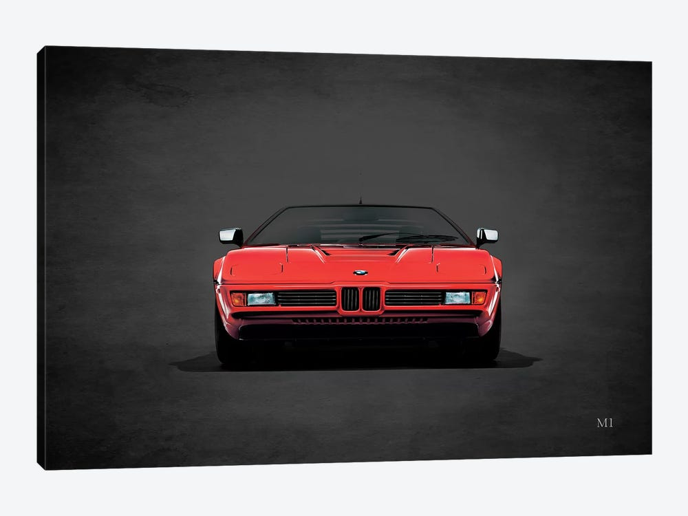 1979 BMW M1 by Mark Rogan 1-piece Canvas Art