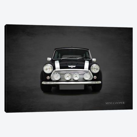 2001 Mini Cooper Canvas Print #RGN379} by Mark Rogan Canvas Art