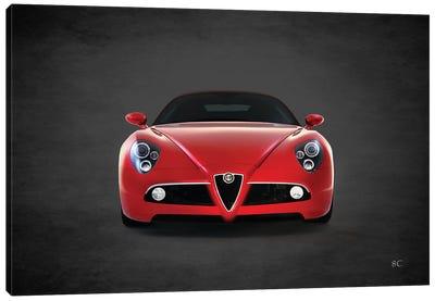 2008 Alfa Romeo 8C Canvas Art Print