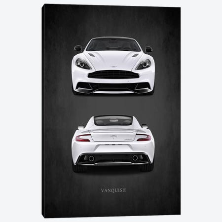 Aston Martin Vanquish 3-Piece Canvas #RGN381} by Mark Rogan Canvas Print