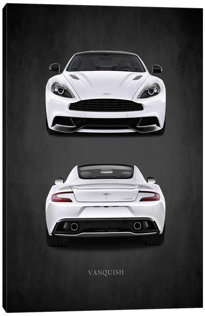 Aston Martin Vanquish Canvas Art Print