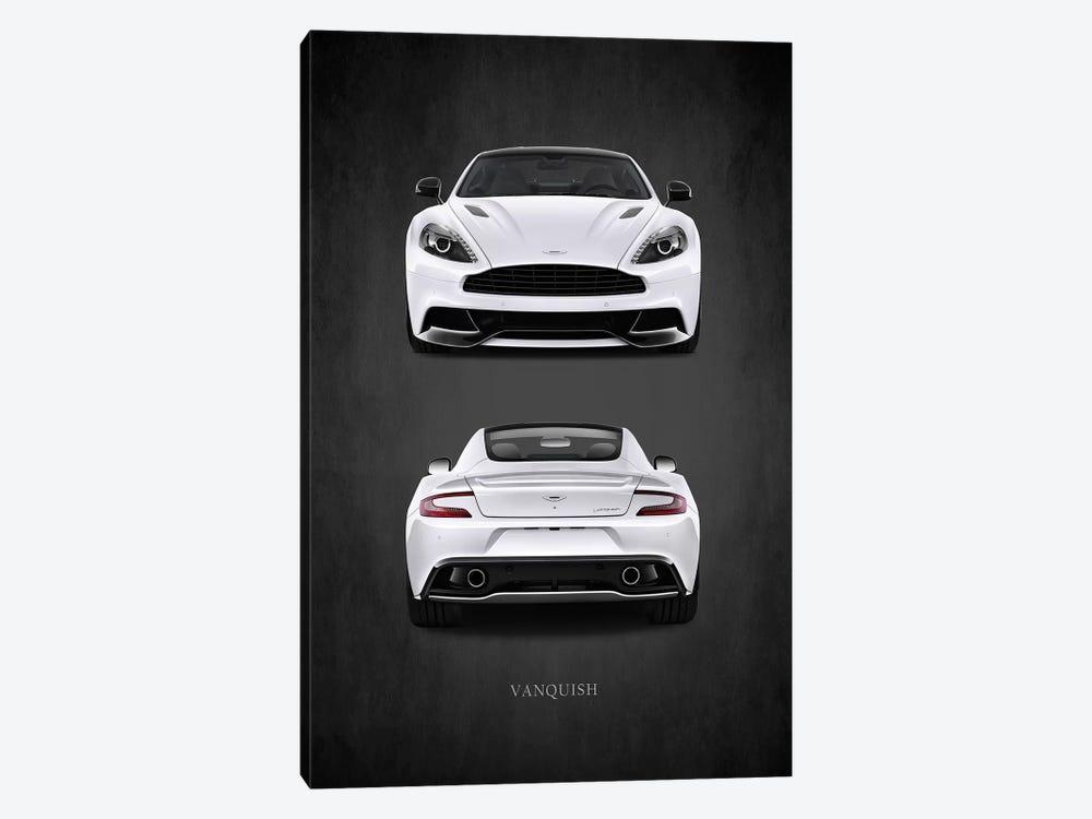 Aston Martin Vanquish by Mark Rogan 1-piece Canvas Art