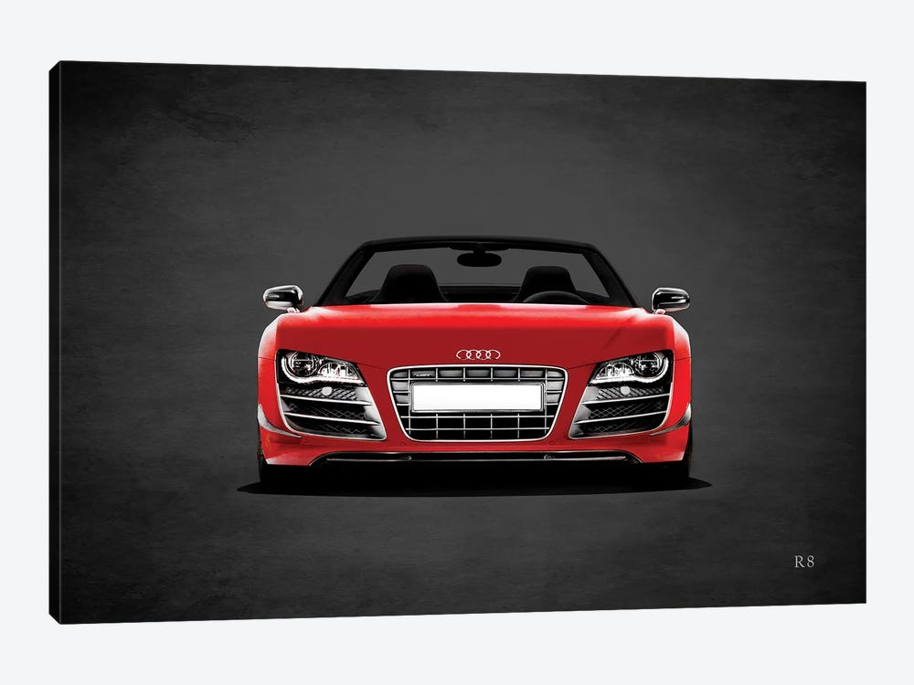 Audi R8 by Mark Rogan 1-piece Art Print