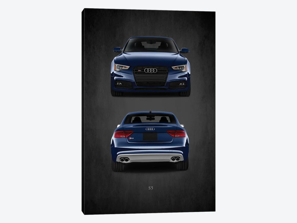 Audi S5 by Mark Rogan 1-piece Canvas Art