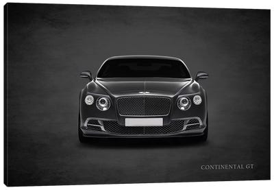 Bentley Continental GT Canvas Art Print
