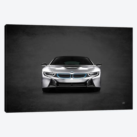 BMW i8 Canvas Print #RGN386} by Mark Rogan Canvas Artwork
