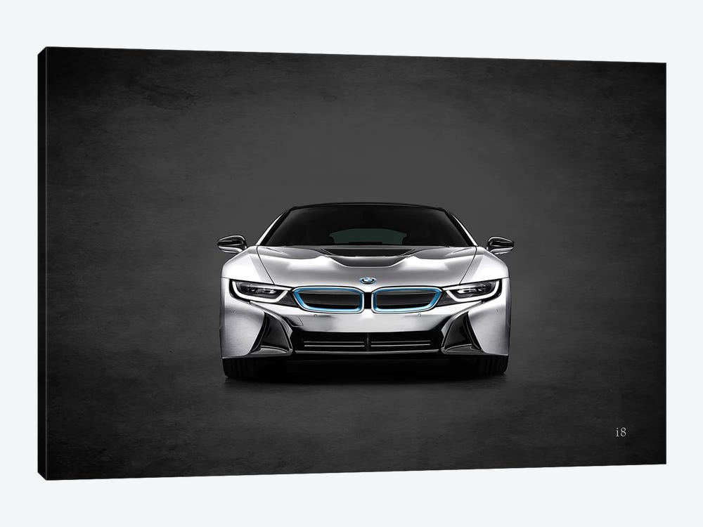 BMW i8 by Mark Rogan 1-piece Canvas Print