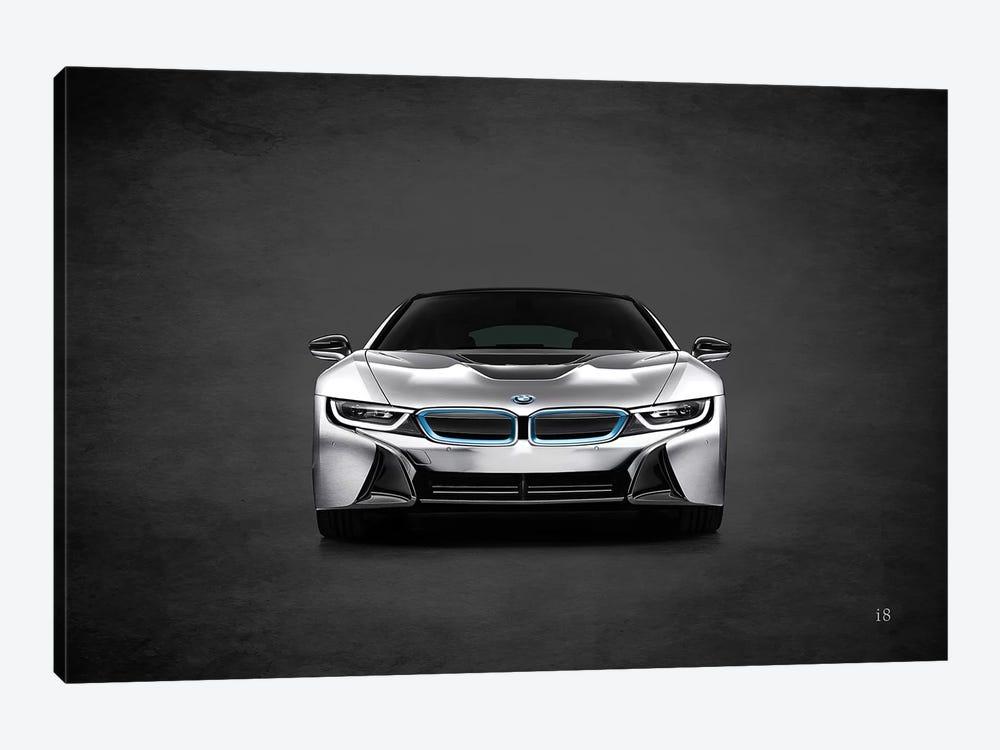BMW i8 by Mark Rogan 1-piece Canvas Print