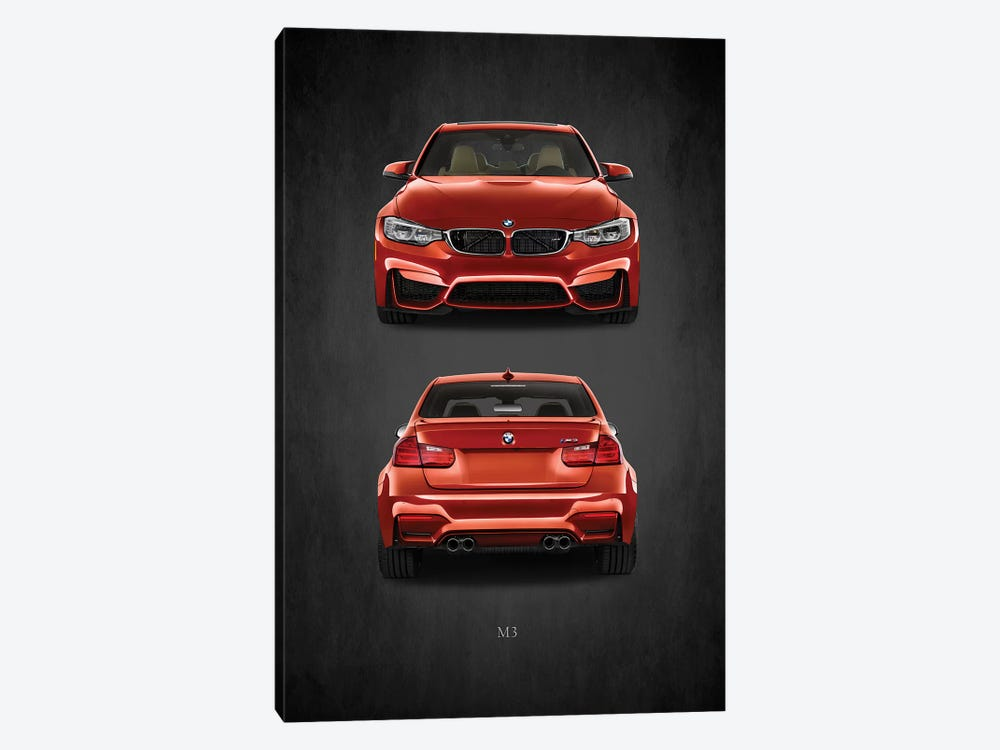 BMW M3 by Mark Rogan 1-piece Canvas Artwork