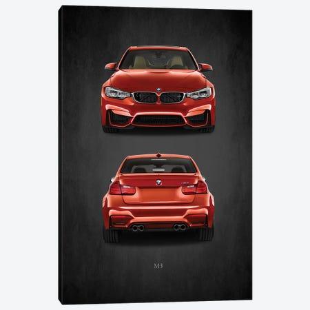 BMW M3 Canvas Print #RGN387} by Mark Rogan Canvas Wall Art