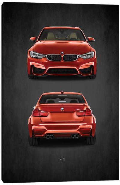 BMW M3 Canvas Art Print