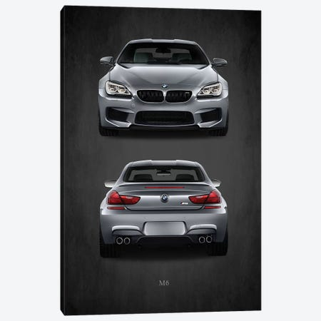 BMW M6 Canvas Print #RGN388} by Mark Rogan Art Print